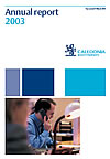 Caledonia Investments annual report 2003