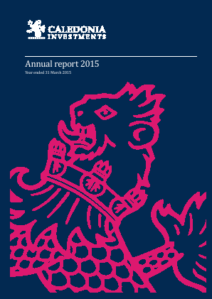 Caledonia Investments annual report 2015