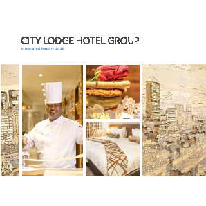 City Lodge Hotels annual report 2016