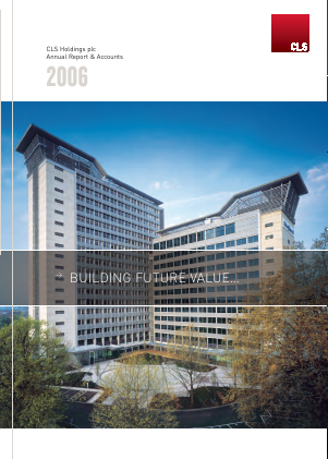 CLS Holdings annual report 2006