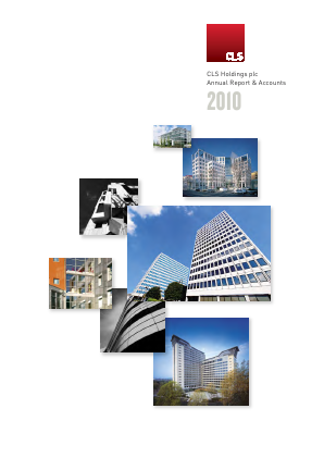 CLS Holdings annual report 2010