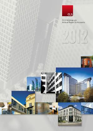 CLS Holdings annual report 2012
