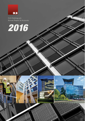 CLS Holdings annual report 2016