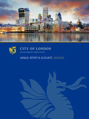 City Of London Investment Group annual report 2014