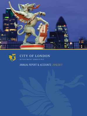 City Of London Investment Group annual report 2017