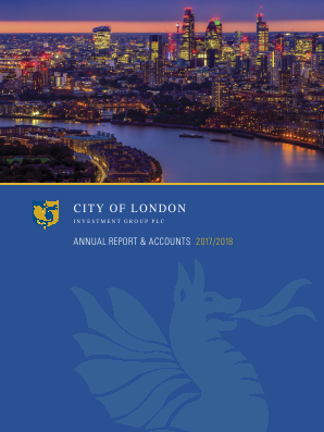 City Of London Investment Group annual report 2018
