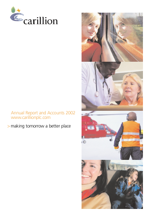 Carillion Plc annual report 2002