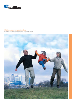 Carillion Plc annual report 2004