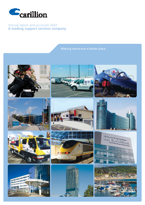 Carillion Plc annual report 2007