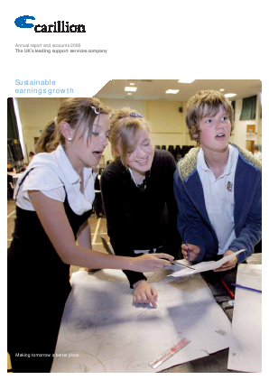Carillion Plc annual report 2008