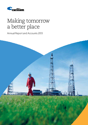 Carillion Plc annual report 2013