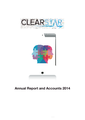Clearstar Inc annual report 2014
