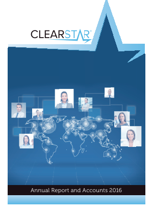 Clearstar Inc annual report 2016