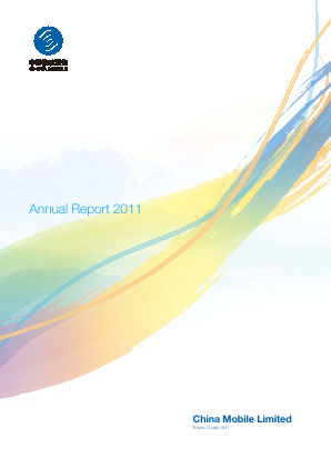 China Mobile Communications annual report 2011