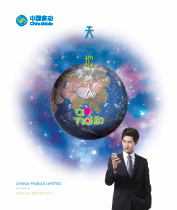 China Mobile Communications annual report 2013