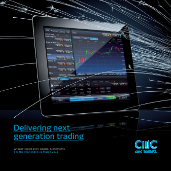CMC Markets annual report 2011