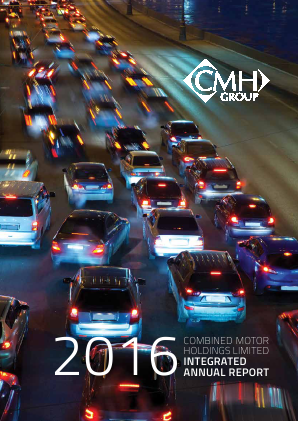 Combined Motor Holdings annual report 2016