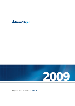 Chamberlin Plc annual report 2009