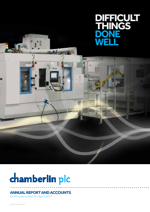 Chamberlin Plc annual report 2017