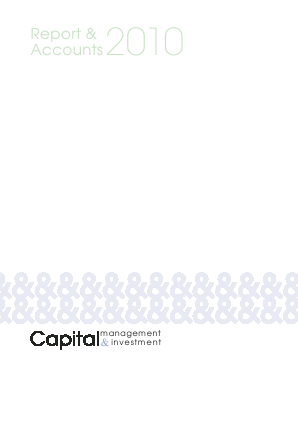 Capital Management & Investment annual report 2010