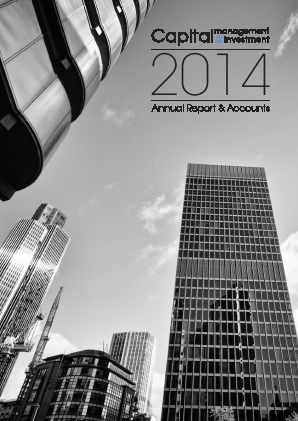 Capital Management & Investment annual report 2014