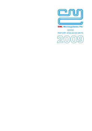 CML Microsystems annual report 2009