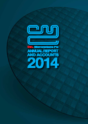 CML Microsystems annual report 2014
