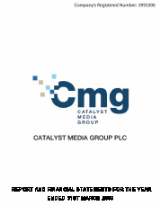 Catalyst Media Group annual report 2009
