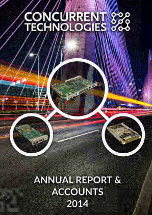 Concurrent Technologies annual report 2014