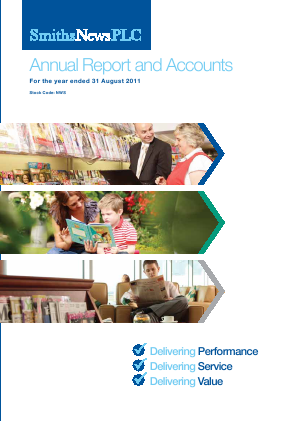Connect Group Plc annual report 2011