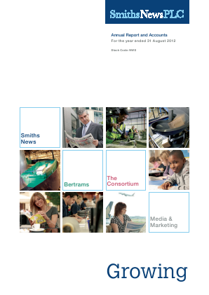 Connect Group Plc annual report 2012
