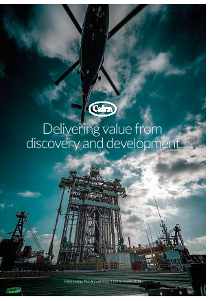 Cairn Energy Plc annual report 2014