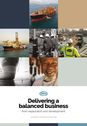 Cairn Energy Plc annual report 2016