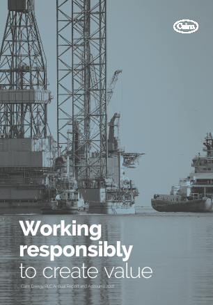 Cairn Energy Plc annual report 2018