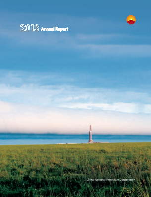 China National Petroleum annual report 2013