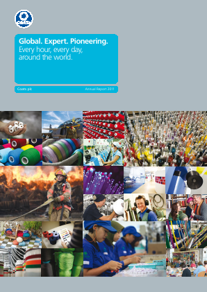 Coats Group Plc annual report 2011