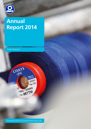 Coats Group Plc annual report 2014