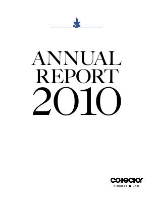 Collector annual report 2010