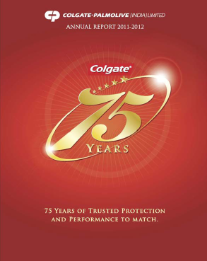 Colgate Palmolive (India) annual report 2012