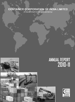 Container Corporation of India annual report 2011