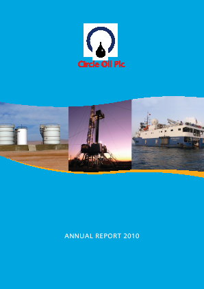 Circle Oil annual report 2010