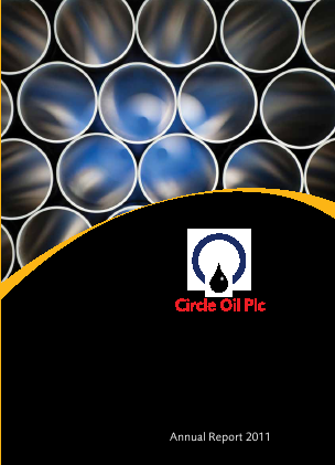 Circle Oil annual report 2011