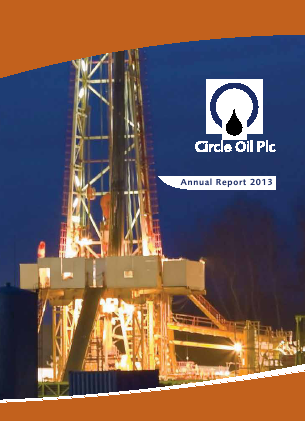 Circle Oil annual report 2013