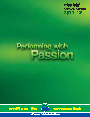 Corporation Bank annual report 2012