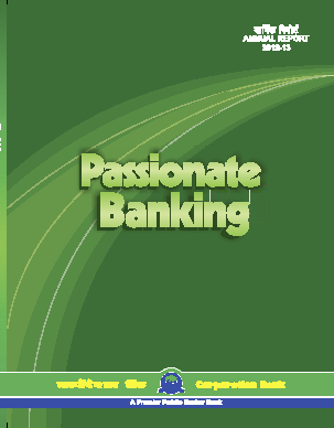 Corporation Bank annual report 2013