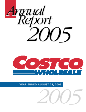Costco Wholesale Corporation annual report 2005