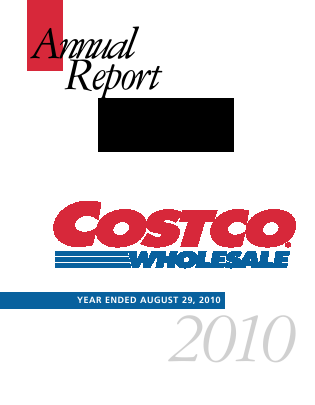 Costco annual report 2010