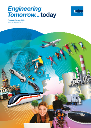 Costain Group annual report 2013