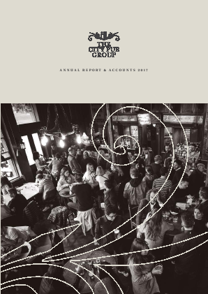 City Pub Group annual report 2017