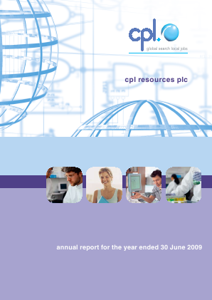 Cpl Resources annual report 2009
